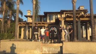 VISITING THE FAZE HOUSE LA!! | FaZe Rug