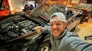 IT'S ALIVE!!! Burnout Car Open Headers Full Revs!!!