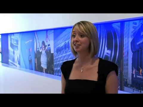 Claire White, Allianz. CII insurance careers case study.
