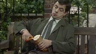 Mr Bean - Sandwich im Park