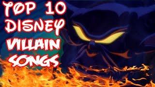 Top 10 Disney Villain Songs (Collab w/ SpaceTree88)
