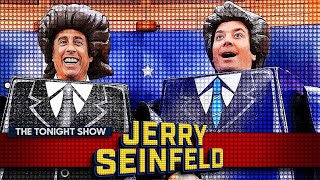 Jerry Seinfeld Transforms Jimmy and The Tonight Show into LEGO