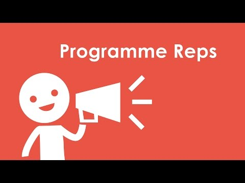 Programme Rep Animation for University of Derby Student's Union