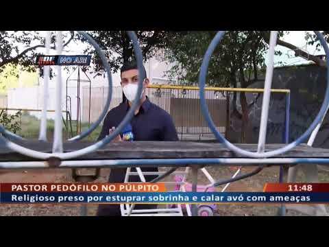 DF ALERTA - Pastor pedófilo no púlpito
