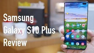 Samsung Galaxy S10 + Full Review (Exynos) with Pros & Cons