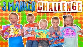 3 Marker Challenge by Family Fun Pack