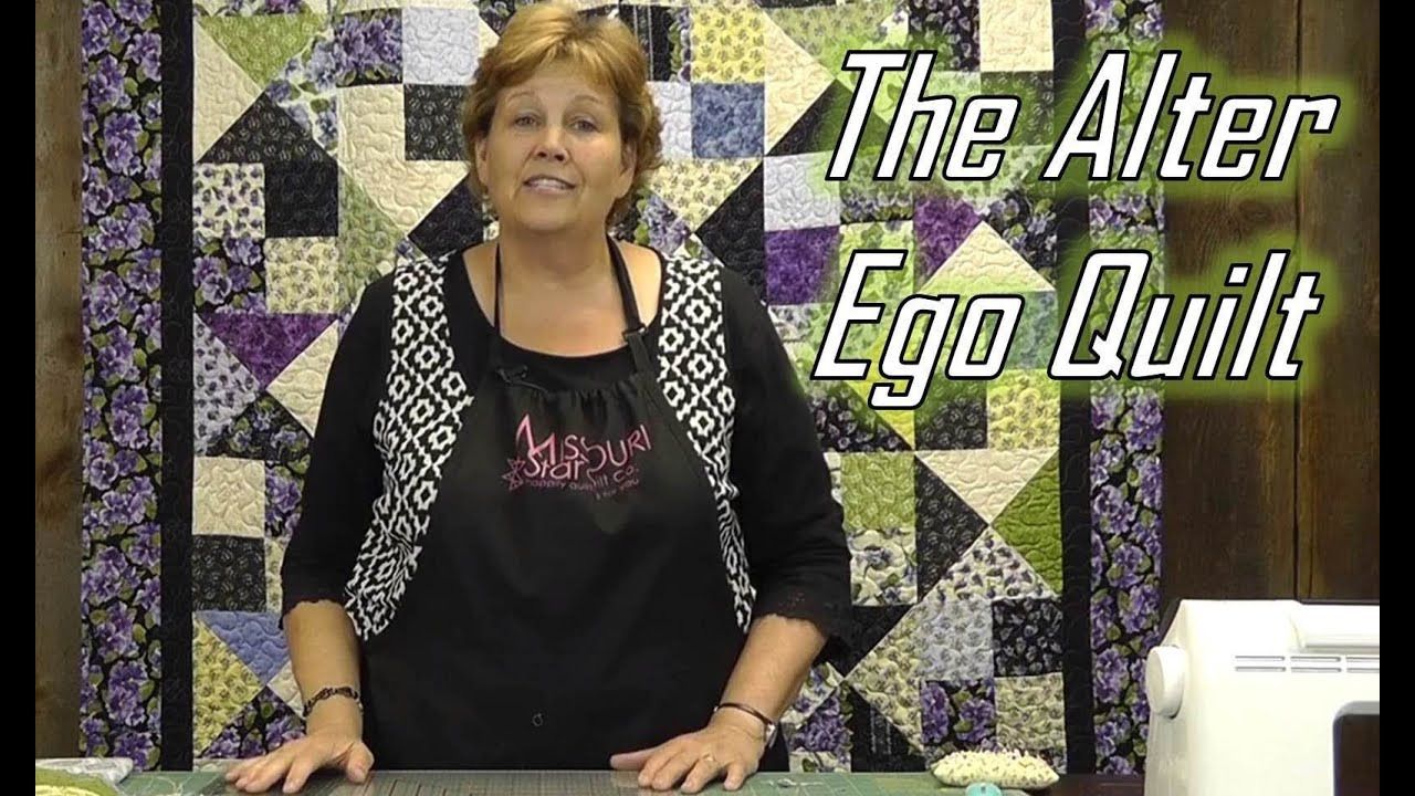 Make The Alter Ego Quilt Using Layer Cakes! - Smashpipe Education