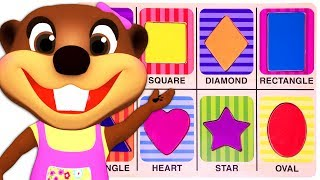 Kids Learn Shapes with Wooden Puzzle Toy | Colors & Shapes Videos Collection for Children | ABC Song