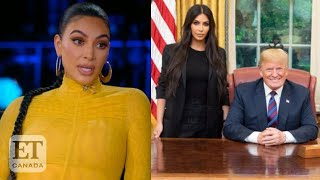 Kim Kardashian Talks Working With Trump