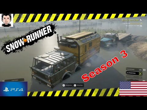 Snowrunner Seasons 3 PS4 Snowrunner#107 im Wisconsin USA #MZ80