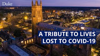 A Tribute to Lives Lost to COVID-19 video