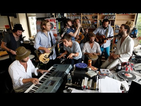 Edward Sharpe And The Magnetic Zeroes: NPR Music Tiny Desk Concert