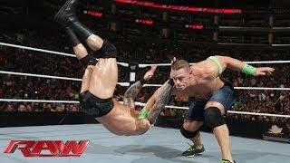John Cena vs. Randy Orton: Raw, Feb. 10, 2014