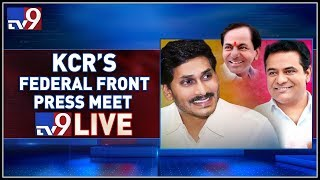 KTR and Jagan Press Meet over KCR's Federal Front LIVE- Lo..