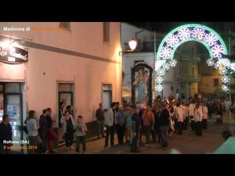 Processione dopo i fuochi pirotecnici Madonna 2014