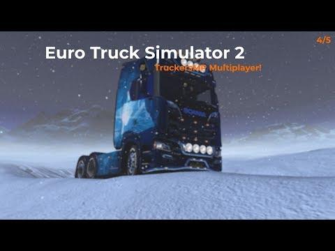 Euro Truck Simulator 2  TruckersMP  Part 45 Opname 04012018