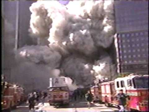 911 wtc twin tower falling debris fell 2 12 blocks