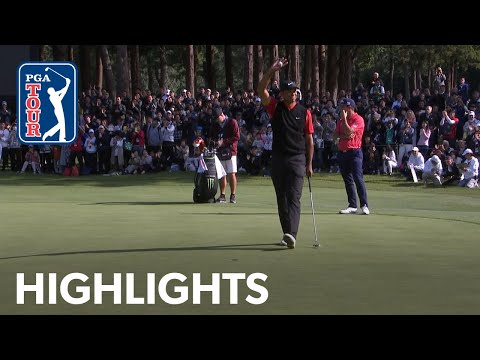 How Tiger Woods won his 82nd PGA TOUR title | ZOZO 2019 Extended Highlights 1