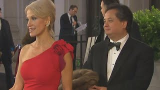 President Trump Feuds With Kellyanne Conway's Husband