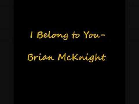 Brian McKnight- I Belong To You