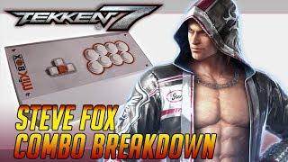Steve Fox Combo Breakdowns: Tekken 7 Season 2 (1440p60) feat. Mixbox