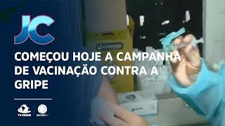Começou hoje a campanha de vacinação contra a gripe
