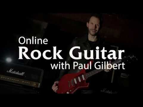 Rock Guitar Lessons with Paul Gilbert - Promo
