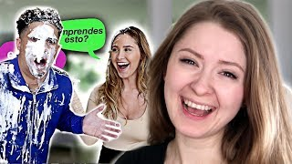 TRY AND FIGURE OUT WHAT I SAY IN SPANISH...OR ELSE CHALLENGE!!! **HILARIOUS** - Ace Family Reaction