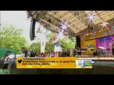 Baixar [HD] Demi Lovato Heart Attack, Made In The USA & Give Your Heart A Break Live GMA 6/28/13