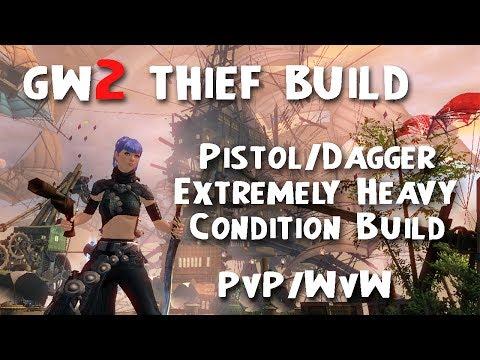 Guild Wars  Pistol Pistol Thief Condition Damage Build