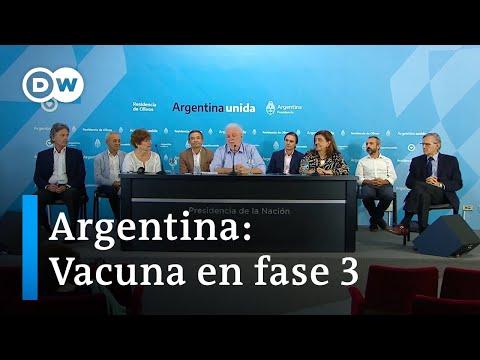 Comienzan ensayos clínicos en Argentina