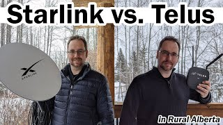 Starlink vs. Telus: My Experience in Rural Alberta