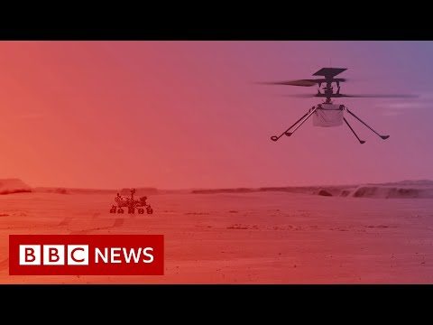 Nasa to fly helicopter on Mars for the first time - BBC News