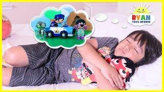 Ryan's Toys Comes to Life in Ryan's Dream Pretend Play fun!!!