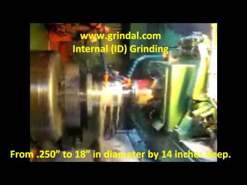 Internal (ID) Grinding - Grindal Company