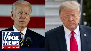 'The Five' react to Trump, Biden battling it out in key swing states