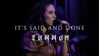 Zannah - It's said and done
