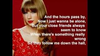 Taylor Swift - The Moment I Knew (Lyrics)