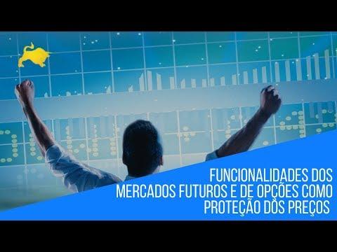 Funcionalidades dos mercados futuros e de opções como proteção dos preços