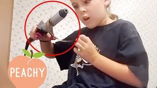 She Just Burnt Her Hair OFF! And More Funny Beauty Fails