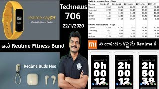 Technews 706 Realme Fitness Band,Iphone SE2 March,Google New Creative Apps,Realme Buds Neo