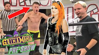 BECKY LYNCH SAVES JAMES ELLSWORTH IN GRIMAMANIA CHALLENGE!