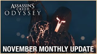 Assassin's Creed Odyssey - Novemberi Frissítés