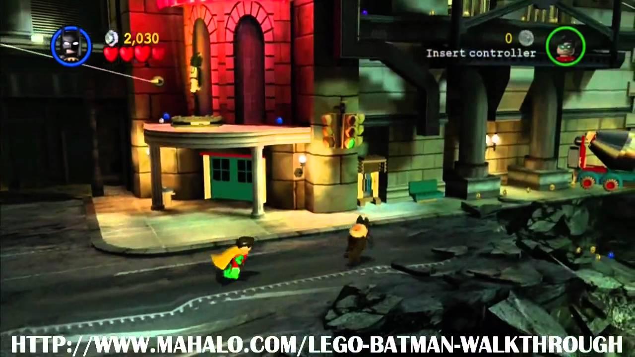 LEGO Batman Walkthrough - Mission 1: You Can Bank on ...