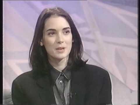 Winona Ryder 1991 UK TV interview