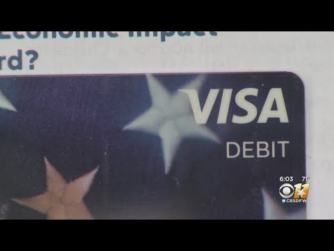 IRS Stimulus Debit Cards Being Cut Up, Mistakenly Reported As Scam