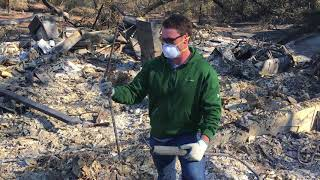Sonoma County fires: Fountaingrove family sees destroyed home for first time