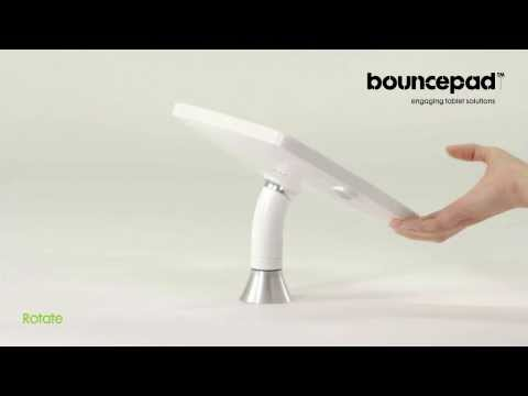 iPad kiosk with rotate movement - Bouncepad