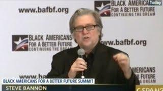Steve Bannon Speaks At
