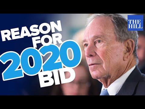 Panel: The true reason Michael Bloomberg is running